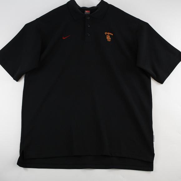 Nike Mens Polo Shirt 3XL USC Trojans Short Sleeve